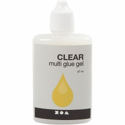 39047 Čiré gelové lepidlo - Multi Glue Gel, 27ml